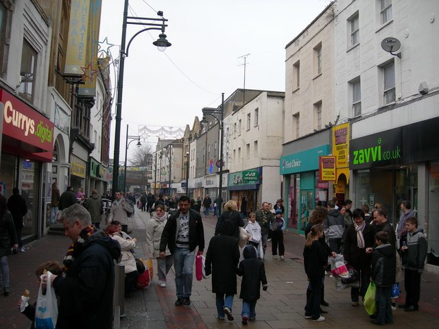 Chatham High Street (2) - geograph.org.uk - 638492