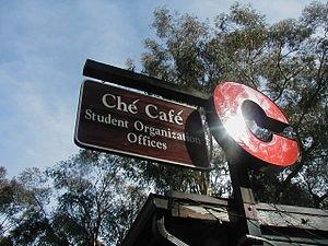 Ché Café - Ché Café sign
