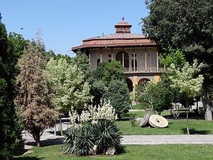 Haydar Mirza Safavi - The 16th-century Chehel Sotun palace in Qazvin, where Haydar Mirza Safavi resided.