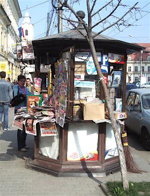 Chiosc ziare Cluj-Napoca