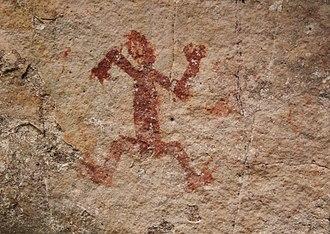 Chiribiquete National Park - Image: Chiribiquete petroglyph 2