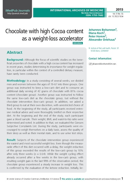 File:Chocolate with high Cocoa content as a weight-loss accelerator.pdf