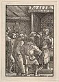 Christ Before Caiaphas, from The Fall and Salvation of Mankind Through the Life and Passion of Christ MET DP832970.jpg