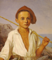 Christen Købke - Portrait af en Fiskerdreng fra Capri - 1844.png