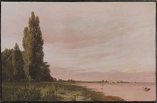 View of the Bay near the Copenhagen Limekiln Looking North. A Quiet Summer Afternoon