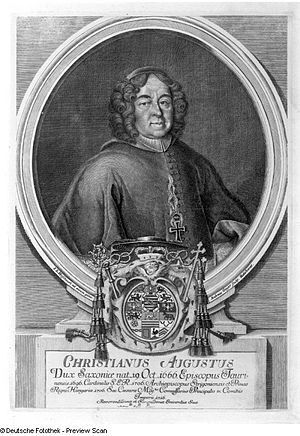 Christian August of Saxe-Zeitz - Image: Christian August Saxe Zeitz