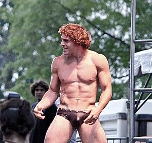 "Eddie Generazio - Generazio as ""Christian Lezzil"" at Gay Pride in Washington D.C. in 2013"