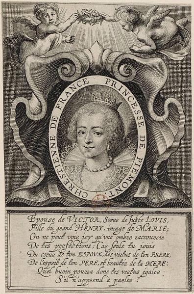 File:Christine de France Engraving 17th century.jpg