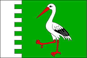 Chvalkovice (Náchod District) - Image: Chvalkovice vlajka