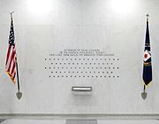 The lives of 83 fallen CIA officers are represented by 83 stars on the CIA memorial wall in the Original Headquarters building.