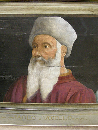 Paolo Uccello - Portrait of Paolo Uccello (unknown artist) Louvre Museum, Paris