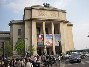 Cité de l'Architecture et du Patrimoine - Entrance to the Cité de l'Architecture et du Patrimoine