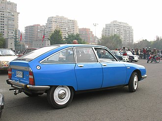Citroën GS - 1978 GS 1220 Club in Chile