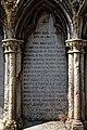 City of London Cemetery - St Dionis Backchurch reburials monument inscription - Newham, London England 2.jpg