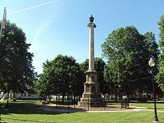 Civil War Memorial (Adrian, Michigan)