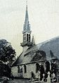 Cléden-Poher 3 L'église paroissiale et son enclos photo ancienne.jpg