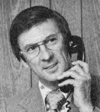 Clark Weber - Weber at WIND Radio, 1976.