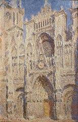 La Cathédrale de Rouen, le Portail, Soleil