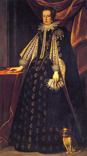 Claudia de' Medici, Duchess of Urbino and Archduchess of Austria by Sustermans.jpg