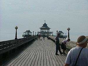 Clevedon Pier.