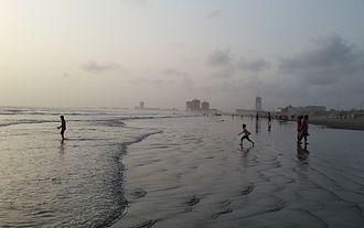 Clifton Beach, Karachi - Image: Clifton beach