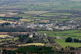 Clogheen, County Tipperary - Clogheen seen from the Knockmealdown Mountains