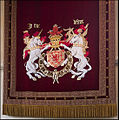 Cloth of Estate (James IV), Great Hall, Stirling Castle (5897542197).jpg