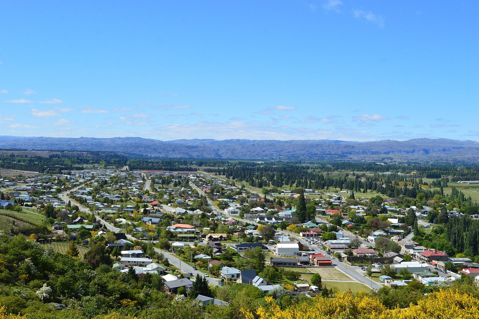 Teroris New Zealand Wikipedia: Clyde, New Zealand