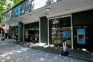 Co-op Food - A rebranded Co-op Food store in Shoreditch