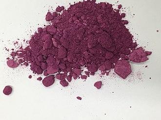 Metal ammine complex - Image: Co A5Cl Cl 2