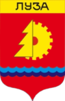 Coat of Arms of Luza (1984).png