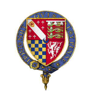 Edward Howard (admiral) - Arms of Sir Edward Howard, KG