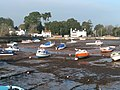 Cockwood Harbour at low tide - geograph.org.uk - 1105300.jpg