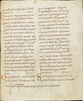 Vulgate 4th-century Latin translation of the Bible by Jerome