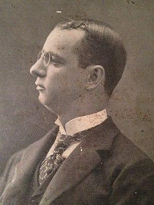 Coleman Adler - Photograph of Coleman E. Adler, circa 1899