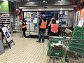 Collecte alimentaire de la banque alimentaire dans un supermarché Carrefour Market à Villeurbanne - 2.JPG