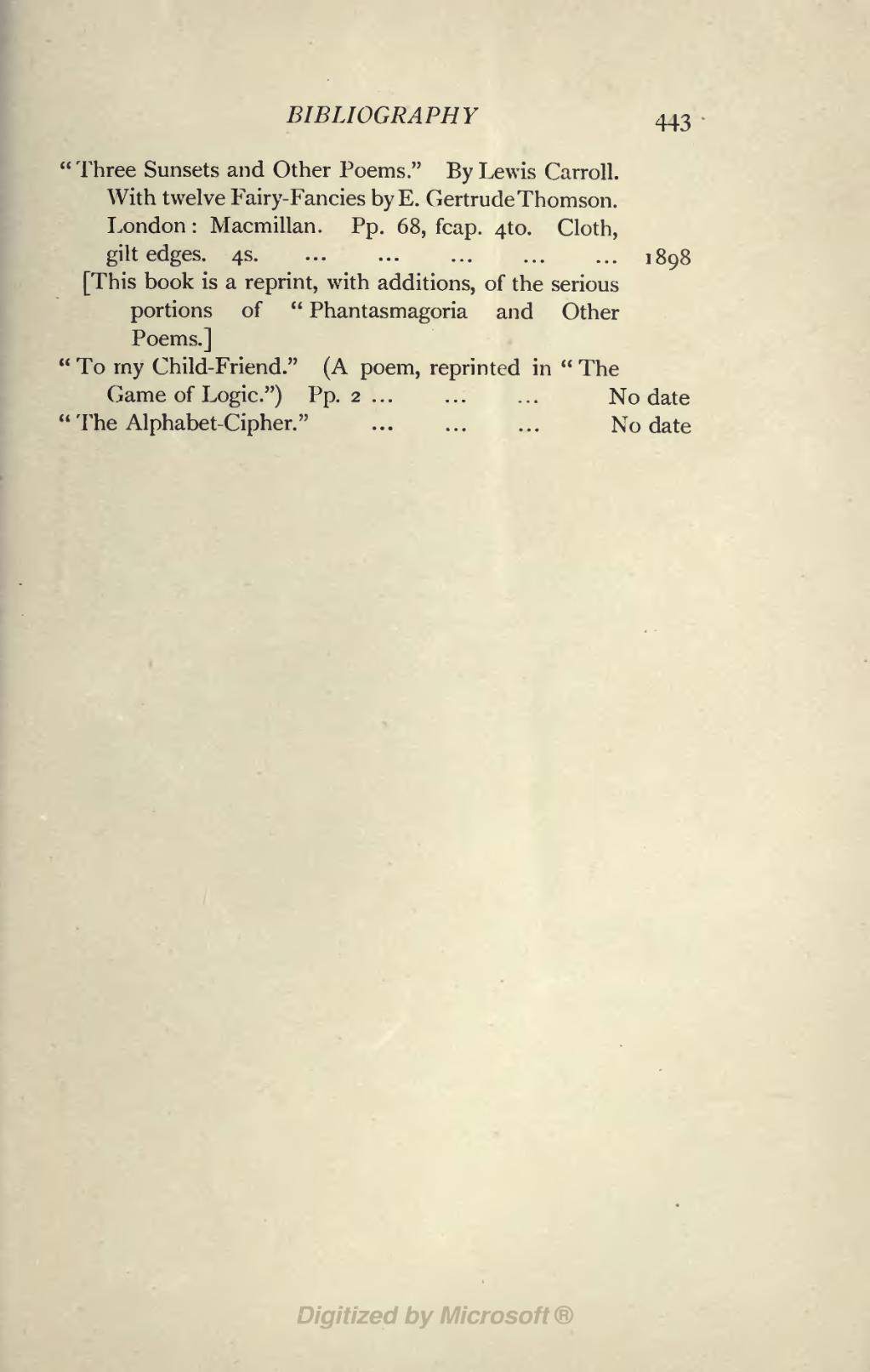Page:Collingwood - Life and Letters of Lewis Carroll djvu/467
