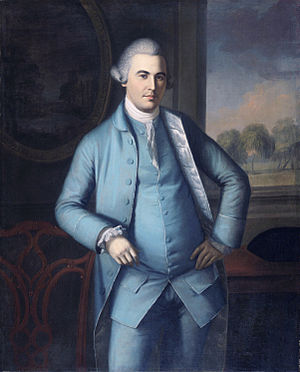 New Jersey's at-large congressional district - Image: Colonel Lambert Cadwalader (1743 1823), by Charles Willson Peale (1741 1827)