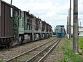 Comboios em cruzamento no pátio da Estação Ferroviária de Itu - Variante Boa Vista-Guaianã km 202 - panoramio (5).jpg