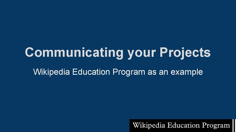 File:Communicating your projects - Wikimania 2015.pdf