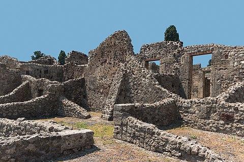 Composition ruins Pompeii