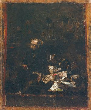 The Gross Clinic - Image: Composition study for the portrait of professor gross thomas eakins