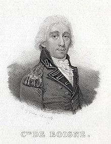 Portrait du comte Benoît de Boigne