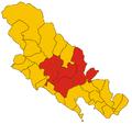 Comunità Montana della Media e Bassa Val di Vara-mappa 2008.png