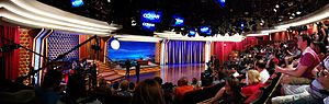 Conan (talk show) - Conan in production on Stage 15