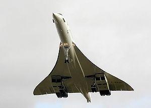 Avión supersónico Concorde