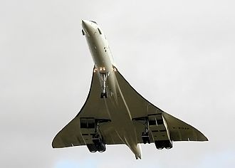 Rolls-Royce/Snecma Olympus 593 - Olympus-powered Concorde 216 (G-BOAF) on the final-ever Concorde landing, at Bristol, England
