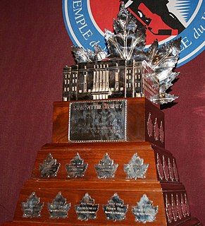Conn Smythe Trophy Ice hockey award