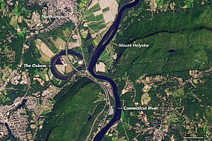 The Oxbow (Connecticut River) - Image: Connecticut River Oxbow
