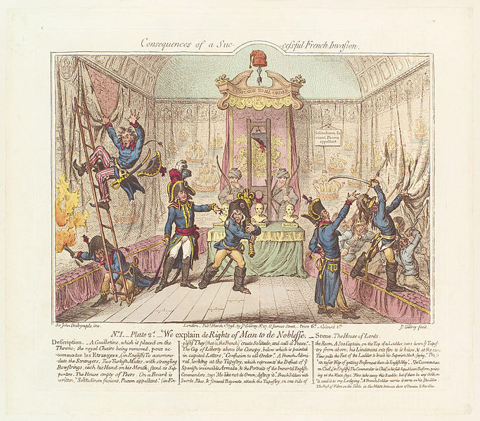 File:Consequences of a successful French invasion, No 1, plate 2d by James Gillray.jpg